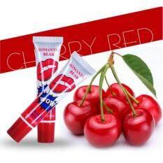 ขาย Romantic Bear Lip Tattoo ลิปกลอสแบบลอกออกเหมือนสักสีปาก Cherry Red ใหม่