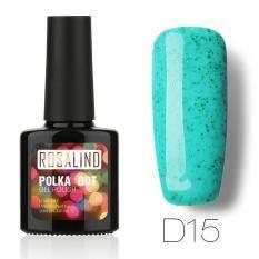 ทบทวน Rosalind Polka Dot สียาทาเล็บเจล สีขนม สีลูกกวาด สีแคนดี้ Gel Polish Soak Off Uv Led 10Ml D15