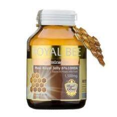 ราคา Royal Bee นมผึ้งรอยัลเจลลี่ Maxi Royal Jelly 6 10Hda 60 Caps เทียบเท่านมผึ้งสด 1500 Mg 1 กระปุก Royal Bee กรุงเทพมหานคร