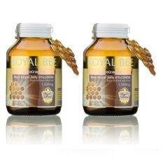 ขาย ซื้อ Royal Bee นมผึ้งรอยัลเจลลี่ Maxi Royal Jelly 6 10Hda 30 Caps 2 กระปุก ไทย