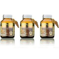 ทบทวน Royal Bee นมผึ้งรอยัลเจลลี่ Maxi Royal Jelly 6 10Hda 30 Caps 3 กระปุก Royal Bee