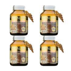 ซื้อ Royal Bee นมผึ้งรอยัลเจลลี่ Maxi Royal Jelly 6 10Hda 30 Caps 4 กระปุก ถูก ไทย