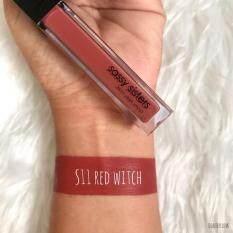 ราคา Sassy Sisters Matte Liquid Lipstick S11 Red Witch ที่สุด