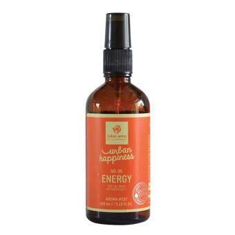 Sabai-Arom Urban Happiness Energy Aromatharapy Mist 100 ml. สบายอารมณ์ เออเบิร์น แฮปปี้เนส เอนเนอจี อะโรมาเทอราพี มิสท์ สเปรย์น้ำมันหอมระเหยเพื่อความผ่อนคลาย กลิ่นเอนเนอจี 100 มล.
