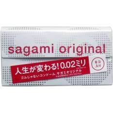 ส่วนลด ซากามิ ออริจินัล Sagami 02 มม 1 กล่อง 6 ชิ้น Sagami Original