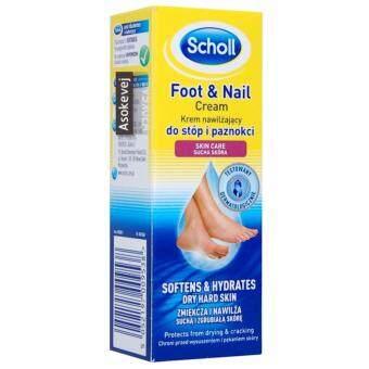 Scholl FootNail Cream 60 ml. สกอลล์ ครีมบำรุงเท้าและเล็บ