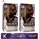 ซื้อ Schwarzkopf Colour Specialist 6 00 Luminous Dark Blonde Pack 2 Schwarzkopf ถูก