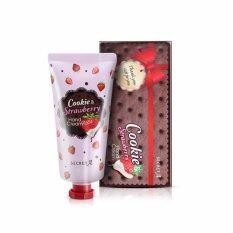 ราคา ราคาถูกที่สุด Secret A Cookie Strawberry Hand Cream ครีมทามือกลิ่น คุ๊กกี้ แอนด์ ครีม สตอเบอรรี่ จากเกาหลี