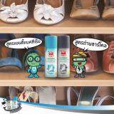 ส่วนลด Set 2 ขวด สีเทา สีฟ้า ผงระงับกลิ่นเท้า Jtเต่าเหยียบโลก Taoyeablok Foot Deodorant Powder 30 กรัม Taoyeablok ใน กรุงเทพมหานคร
