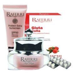 ซื้อ Set R8 Raferri Gluta Colla Raferri กันแดด Raferri ไนท์ครีม ถูก