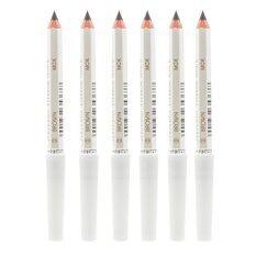 Shiseido Eyebrow Pencil No ดินสอเขียนคิ้วคุณภาพดี เขียนง่าย ดูเป็นธรรมชาติ 3 Brown 6 แท่ง เป็นต้นฉบับ