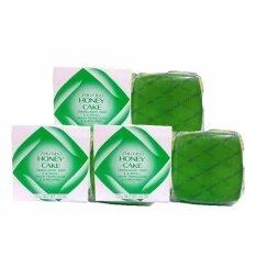 ขาย Shiseido Honey Cake Translucent Soap E 4 Refill สบู่ล้างหน้าป้องกันการเกิดสิว 100G 3 ก้อน ถูก ไทย