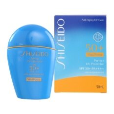 ราคา Shiseido Perfect Uv Protector Spf 50 Pa Wetforce 50Ml ใหม่