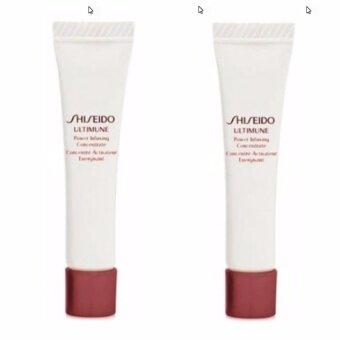 Shiseido Ultimune Eye Power Infusing Eye Concentrate 5ml แพ็ค 2ชิ้น เซรั่มบำรุงรอบดวงตา เสริมความแข็งแรงของผิวที่บอบบาง