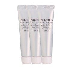 ขาย Shiseido White Lucent All Day Brightener Spf36 มอยเจอร์ไรเซอร์ไวท์เทนนิ่งสูตรกลางวัน 15Ml 3 หลอด ถูก