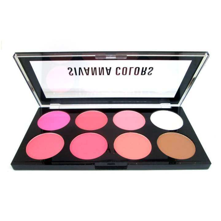 Five No Fail Palettes For: Sivanna Colors Ultra Blush Palette HF319 (#No2) บลัชออน สิ