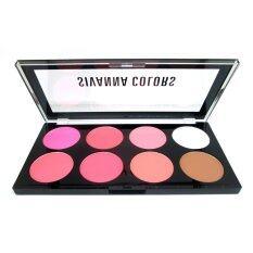 โปรโมชั่น Sivanna Colors พาเลท บลัชออน 8 สี พร้อมไฮไลท์และเฉดดิ้ง Ultra Blush Palette No 02 Sivanna ใหม่ล่าสุด