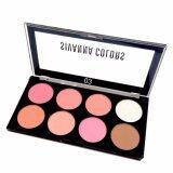 ทบทวน ที่สุด Sivanna Colors พาเลท บลัชออน 8 สี พร้อมไฮไลท์และเฉดดิ้ง Ultra Blush Palette No 03