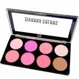 ราคา Sivanna Colors พาเลท บลัชออน 8 สี พร้อมไฮไลท์และเฉดดิ้ง Ultra Blush Palette No 04 Sivanna