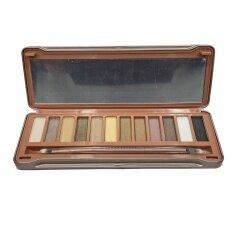ซื้อ Sivanna Colors อายแชโดว์ พาเลท Classic Earthtone Eyeshadow Palette No 2 ออนไลน์