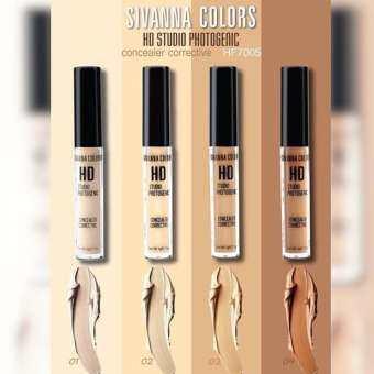 Sivanna Colors HD Studio Photogenic Concealer Corrective HF7005 คอนซิลเลอร์เนื้อครีม เลือกเบอร์ด้านใน