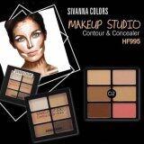ขาย Sivanna Colors Makeup Studio Contour Concealer คอนทัวร์ และ คอนซีลเลอร์ Hf995 No 02 1 กล่อง ราคาถูกที่สุด
