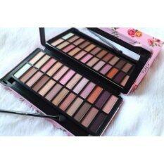 ราคา Sivanna Colors Makeup Studio Hf990 พาเลทอายแชโดว์ 24 สี 03 Sweet Pink ออนไลน์