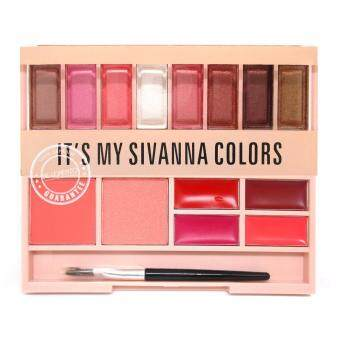 Sivanna Colors พาเลทแต่งหน้า พาเลท sivanna เซตแต่งหน้า make up palette It's my sivanna (เบอร์-01)