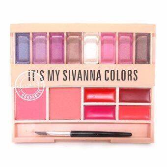 Sivanna Colors พาเลทแต่งหน้า พาเลท sivanna เซตแต่งหน้า make up palette It's my sivanna (เบอร์-03)