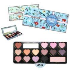 ขาย Sivanna Colors Soft S*Xy Eyeshadow Collection Precious Kit No 1 โทนชมพูหวาน อายแชโดว์ พาเลท ซีเวียน่า กล่องเหล็ก Sivanna Color เป็นต้นฉบับ