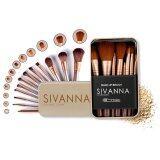 ราคา Sivanna Colors Story ซิวันนา ชุดแปรงแต่งหน้า เซตแปรงแต่งหน้า บรรจุในกล่องเหล็ก ใหม่