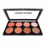 ราคา Sivanna Colors Ultra Blush Palette พาเลทปัดแก้ม บลัชออนพาเลท 8 สี พร้อมไฮไลท์และเฉดดิ้ง No 01 Sivanna ออนไลน์