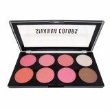 ราคา Sivanna Colors Ultra Blush Palette พาเลทปัดแก้ม บลัชออนพาเลท 8 สี พร้อมไฮไลท์และเฉดดิ้ง No 03 เป็นต้นฉบับ
