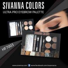 ราคา ราคาถูกที่สุด Sivanna Colors Ultra Pro Eyebrow Palette เบอร์ 02