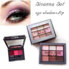 ซื้อ Sivanna Make Up Set Eye Lip ทาตา 9 ช่อง 3 โทนสี ลิป 3 สี ในตลับเดียว สีติดทนไม่เป็นก้อนมอบเสน่ห์ให้ดวงตาได้ตลอดวัน ออนไลน์ ถูก