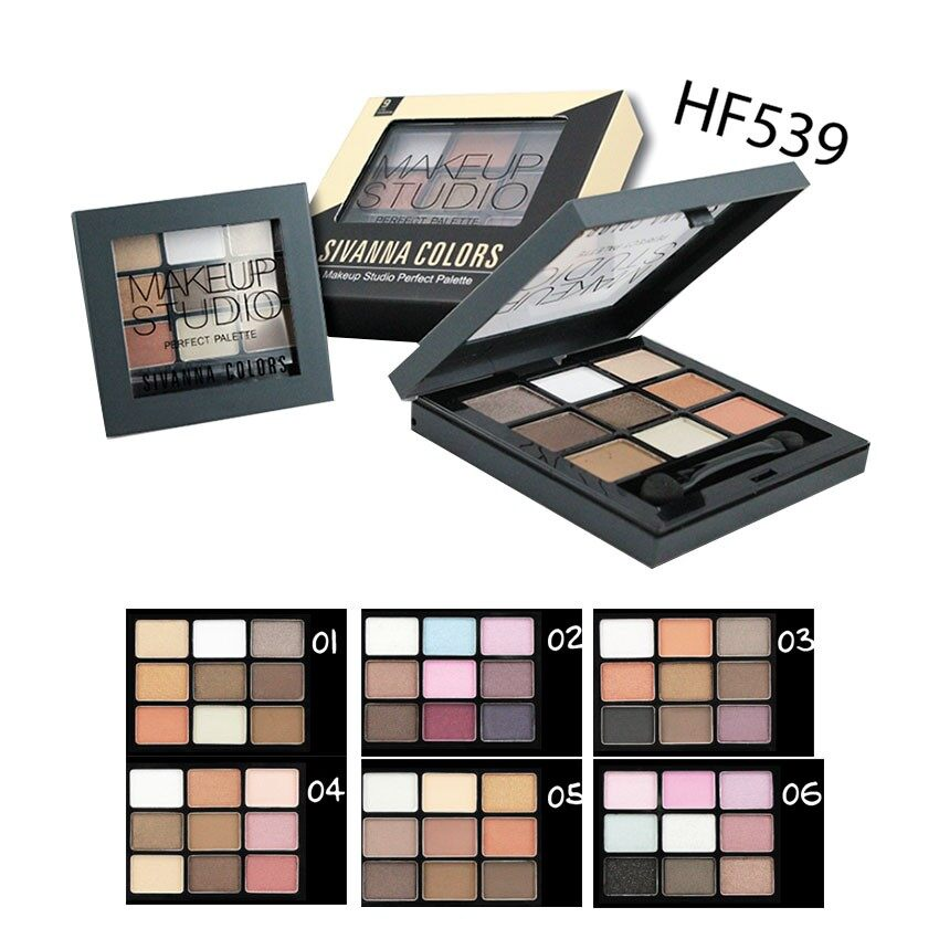 Sivanna Makeup Studio Perfect Palette2