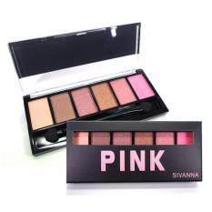 ซื้อ Sivanna อายแชโดว์ พาเลท Pink Eye 6 Color Hf 312 Pink กรุงเทพมหานคร