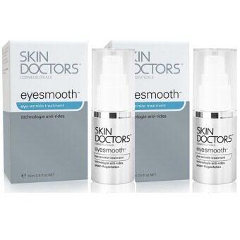 Skin Doctors Eyesmooth ครีมลดรอยตีนกาและริ้วรอยรอบดวงตา 15ml. (2 ชิ้น)