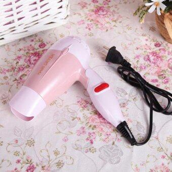 Small Target hair dryer ด้ามจับพับได้ ไดร์เป่าผม1000W รุ่น K-001001 (สีชมพู)