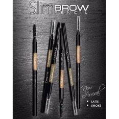 ขาย ☆ใหม่ Smoke สีน้ำตาลหม่นเขียว Cosluxe Slimbrow Pencil เขียนคิ้วเนื้อฝุ่นอัดแข็ง ช่วยในการแรเงาคิ้วได้อย่างเป็นธรรมชาติ Cosluxe ผู้ค้าส่ง