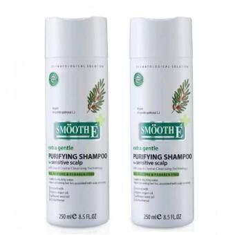 Smooth-E สมูท อี เพียวรีฟายอิ้ง แชมพู ฟอร์ เซนซิทีฟ สคาล์พ Smooth E Purifying Shampoo 250 ml. 2 ขวด