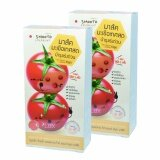 ขาย Smooto Tomato Collagen White สมูทโตะ โทเมโท คอลลาเจน ไวท์ แอนด์สมูท มาส์ค มาส์คมะเขือเทศสด บำรุงผิว บรรจุ 6 ซอง 2 กล่อง Smooto
