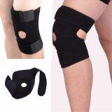 ขาย สนับเข่า สายรัดเข่า แบบมีรูตรงกลาง เสริมด้วยโฟมอย่างดี ป้องกันการกระแทกและลดอาการบาดเจ็บ Knee Support สีดำ Aolikes ใน กรุงเทพมหานคร