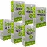 ขาย Snail White X10 Acne Whitening สบู่สีเขียว 70G แพ็ค 6 ก้อน ใหม่