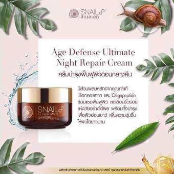 SNAIL8 AGE DEFENSE Ultimate Night Repair Cream (50 g)