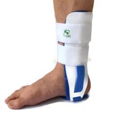 ราคา Softguards Ankle Support Ankle Gel Stirrup อุปกรณ์พยุงข้อเท้า แบบมีเจลประกบข้างชนิดนิ่ม White Softguards