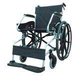 ขาย Soma รถเข็นโซม่า อัลลอยด์ ผู้ป่วยคนชรา Wheelchair คนแก่ วีลแชร์ พับได้ รุ่น F24 Sm 150 3