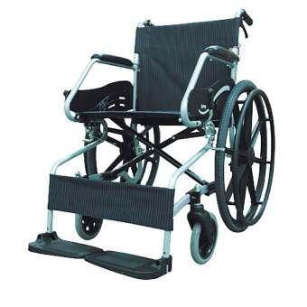 Soma รถเข็นโซม่า อัลลอยด์ ผู้ป่วยคนชรา Wheelchair คนแก่ วีลแชร์ พับได้   รุ่น F24 (SM-150.3)-