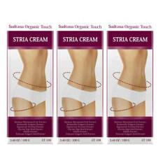 ทบทวน Sudtana Organic Touch Stria Cream ครีมบำรุงสำหรับผิวแตกลาย 3 ชิ้น
