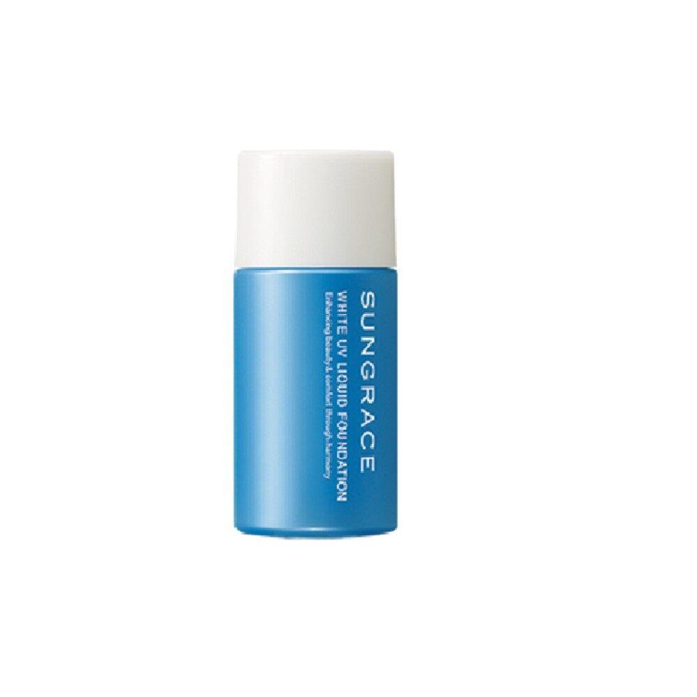 SUNGRACE WHITE UV LIQUID FOUNDATION SPF23 / PA++ no.04 สำหรับผิวสองสี